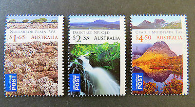 Australian Decimal Stamps: 2012 Wilderness Australia Int'l Post Set of 3 MNH