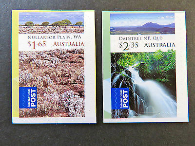 Australian Decimal Stamps: 2012 Wilderness Australia Int'l Post Set of 2 P&S MNH