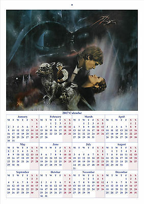 Star Wars: Empire Strikes Back - 2017 A4 CALENDAR **BUY ANY 1 AND GET 1 FREE**