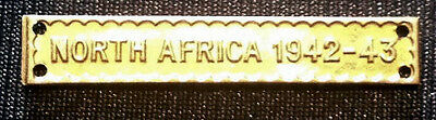 100% Genuine Full Size North Africa 1942-43 Clasp For The Africa Star,