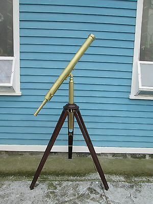 "French Telescope, Signed ""chevallier'"