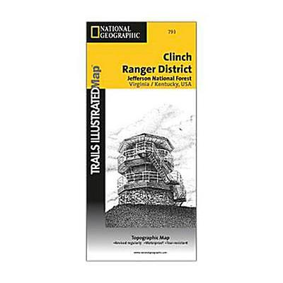 National Geographic 603139 793 Boots Clinch Ranger District Virginia