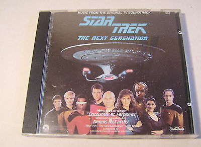 Music from the original TV Soundtrack CD Star Trek The Next Generation 1988