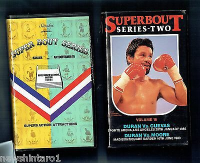 #ll4.  Ten(10)  Boxing  Vhs Video Tapes