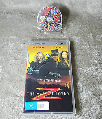 The Mask of Zorro UMD Video PlayStation Portable PSP ____FREE POSTAGE!!