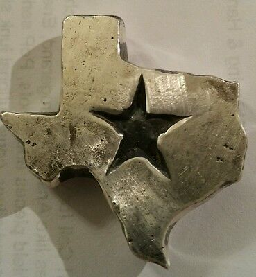 2 oz .999 Silver hand poured Texas lone star state only 500 made Dallas Cowboys