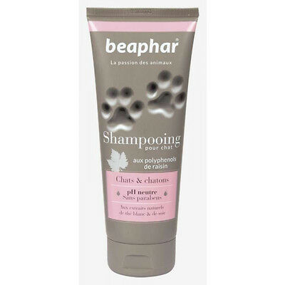 Shampoing naturel pour chats et chatons Beaphar 250 ml