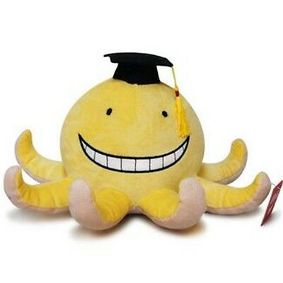 "Anime 6"" Korosensei Assassination Classroom Doll Mini Plush Toy Cosplay Gift New"