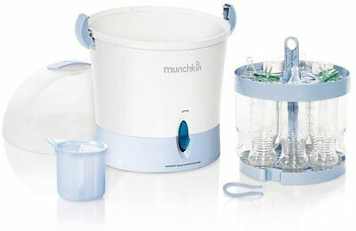 Munchkin Steam Guard Electric Baby Formula Bottle and Accessory Sterilizer, New