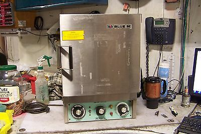 Blue M Ov-12A Stablil-Therm Gravity Oven 38 To 260ºC 120 Vac 975 Watts 1 Phase