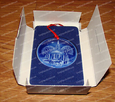 Bing & Grondahl 1989 New England Christmas (Porcelain) Limited Edition Ornament