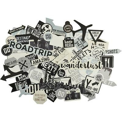 Just Landed Diecuts Kaisercraft Collectables Cardstock Die Cuts Travel Journey