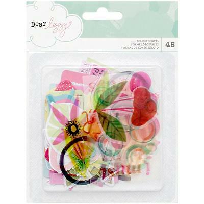 Happy Place Diecuts Dear Lizzy American Crafts Tropical Acetate & Cardstock