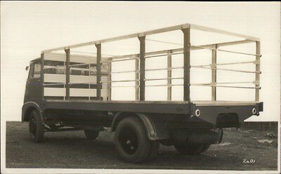 Old Truck Flat Bed c1940s-50s Real Photo Postcard
