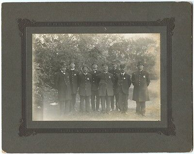 Great Old Circa 1900 Newport, Kentucky Police Department Cabinet Photo