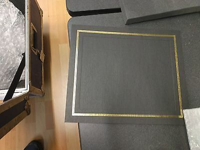 Black Cardstock Picture Frames, 8x10: Box of 160