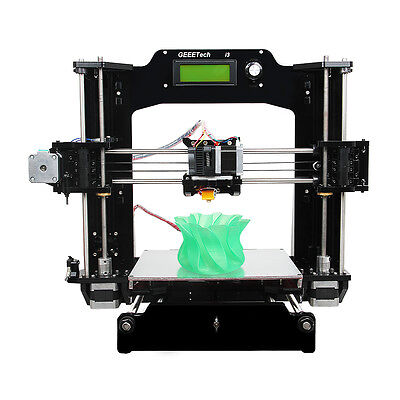 Print 6 materials Geeetech Reprap Prusa I3 Pro X 3D Printer MK8 shipped from UK