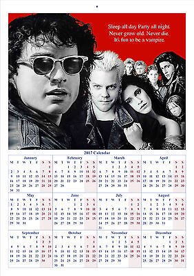 The Lost Boys - 2017 A4 CALENDAR **BUY ANY 1 AND GET 1 FREE OFFER**