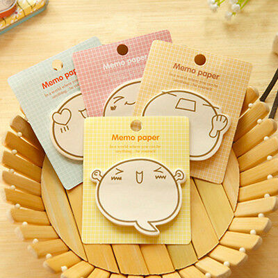5Pcs/set Cute Sticker Post It Bookmark Point Marker Memo Notepad Sticky Notes