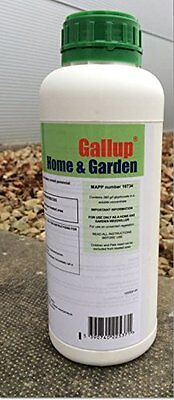 1 X1L GALLUP 360 GLYPHOSATE WEEDKILLER PROFESSIONAL STRENGTH Home and Garden