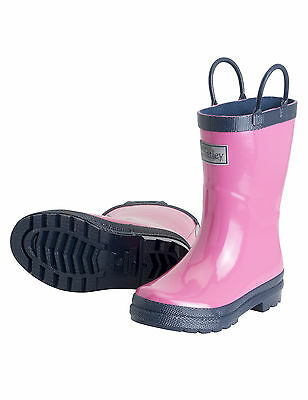 Hatley Kids Rain Boots - Pink and Navy