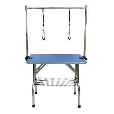 Dog Cat Pet Grooming Folding Table Portable Adjustable Arm Foldable Professional