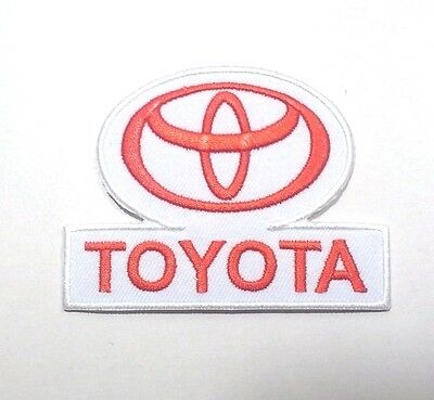New Toyota Car Racing Automobile Motorsport Logo Embroidered Iron On Patch Po429