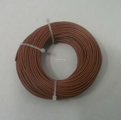 22 AWG tinned copper stranded electrical hook up wire, 100 feet Brown UL1007