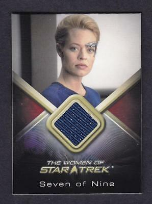 Women  Of Star Trek Costume Card Wcc7  Jeri Ryan As  Seven Of Nine