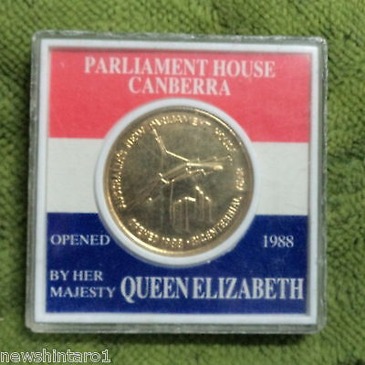 #D265. 1988 Opening Of  New Parliament House  Gilt Medal