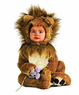 Rubie's Costume Co Unisex-baby Infant Noah Ark Lion Cub Romper Brown/Beige 12...