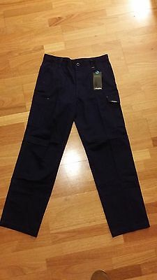 KING GEE WORKCOOL package (2x shirts, 3x pants - Navy, M/87R)