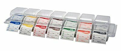 DayMark I132154 DissolveMark Day of the Week DayView Label Dispenser With Mon...