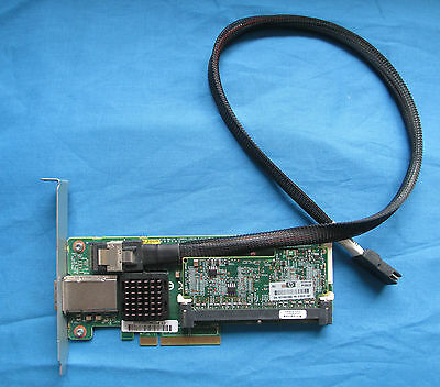 HP 013233-001 ML330 G6 Internal SAS Raid Card Adapter with Cable 462594-001