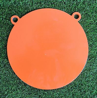 Hardox 500 150mm Gong Double Hole Rifle Shooting Targets AR500 Plate Shotgun