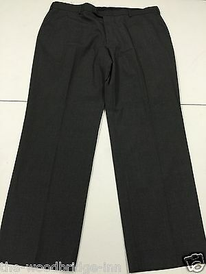 """Bnwt Marks & Spencer Size W40"""" L31"""" Light Grey Mens Suit Trousers (Rrrp £24) 8N"""