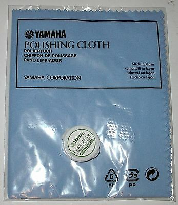 YAMAHA Cleaning Cloth Lacquer and Cork Grease