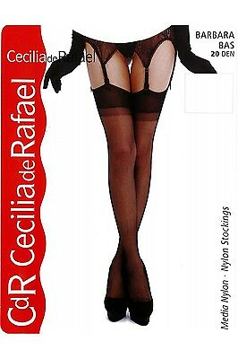 Cecilia de Rafael BARBARA Sheer Silky Stockings Nylons Hosiery 20 Denier