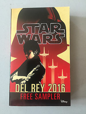 NEW Star Wars Sampler book (Del Rey 2016) Paperback - From San Diego Comic Con