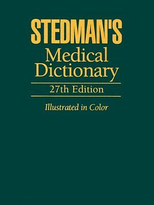 Stedman's Medical Dictionary for the Health Professions and Nursing (2011,...