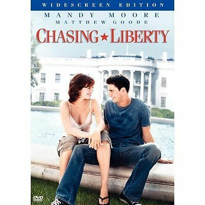 Chasing Liberty (DVD, 2004, Widescreen) NEW SEALED FREE SHIPPING Mandy Moore