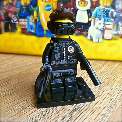 LEGO 71013 Minifigures SERIES 16 SPY OPERATIVE #14 SEALED Minifig Rope Goggles