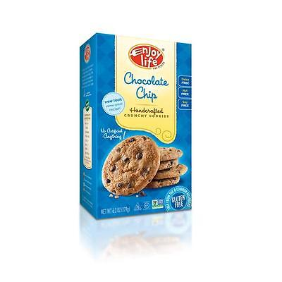 Enjoy Life 1225 Enjoy Life Crunchy Chocolate Chip Cookies 6x7 OZ