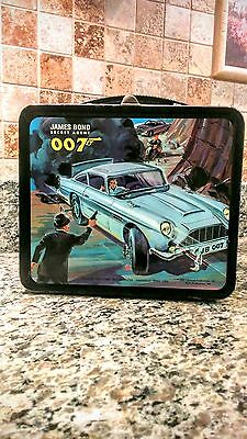 Rare Vintage 1966 James Bond 007 Lunch Box  By Aladdin  In Great Shape!