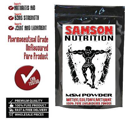 MSM POWDER 100g UNFLAVOURED PHARMACEUTICAL GRADE PREMIUM QUALITY -WITH TRACKING