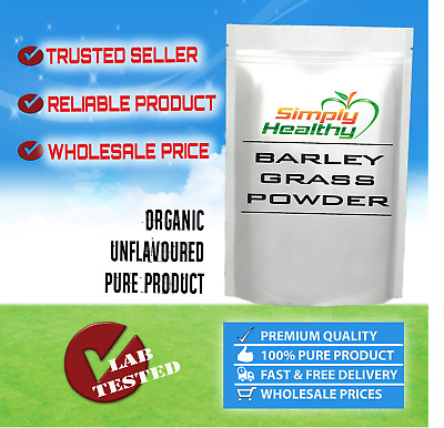 ORGANIC BARLEYGRASS POWDER  CERTIFIED 100g BEST AVAILABLE QUALITY -WITH TRACKING