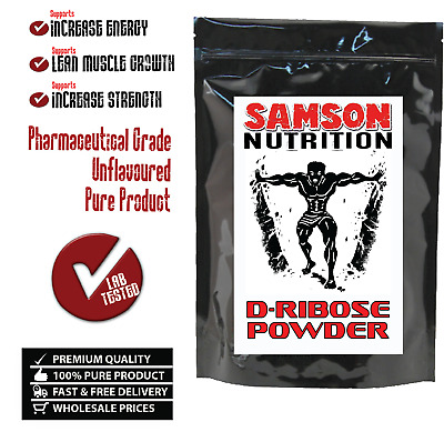 D-RIBOSE ENERGY 100g UNFLAVOURED SAMSON NUTRITION PREMIUM QUALITY -WITH TRACKING