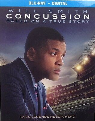 Concussion (Blu-ray Disc, 2016, Includes Digital Copy; UltraViolet) Will Smith