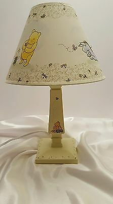 Disney Classic POOH Nursery Lamp & Shade