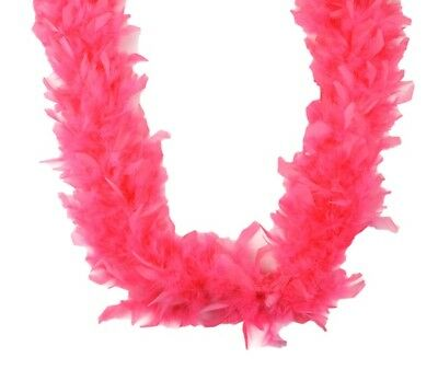 Chandelle Feather Boa Flamingo 45 gm 72 in 6 Ft